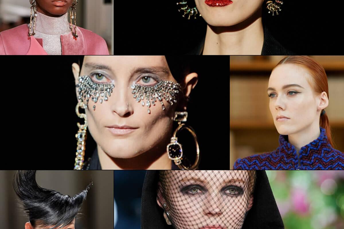 2019-20 SonbaharKış Couture Sezonunun Dikkat Çeken Saç ve Makyajları
