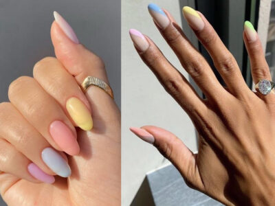 Manicure Trend Rainbow Nails