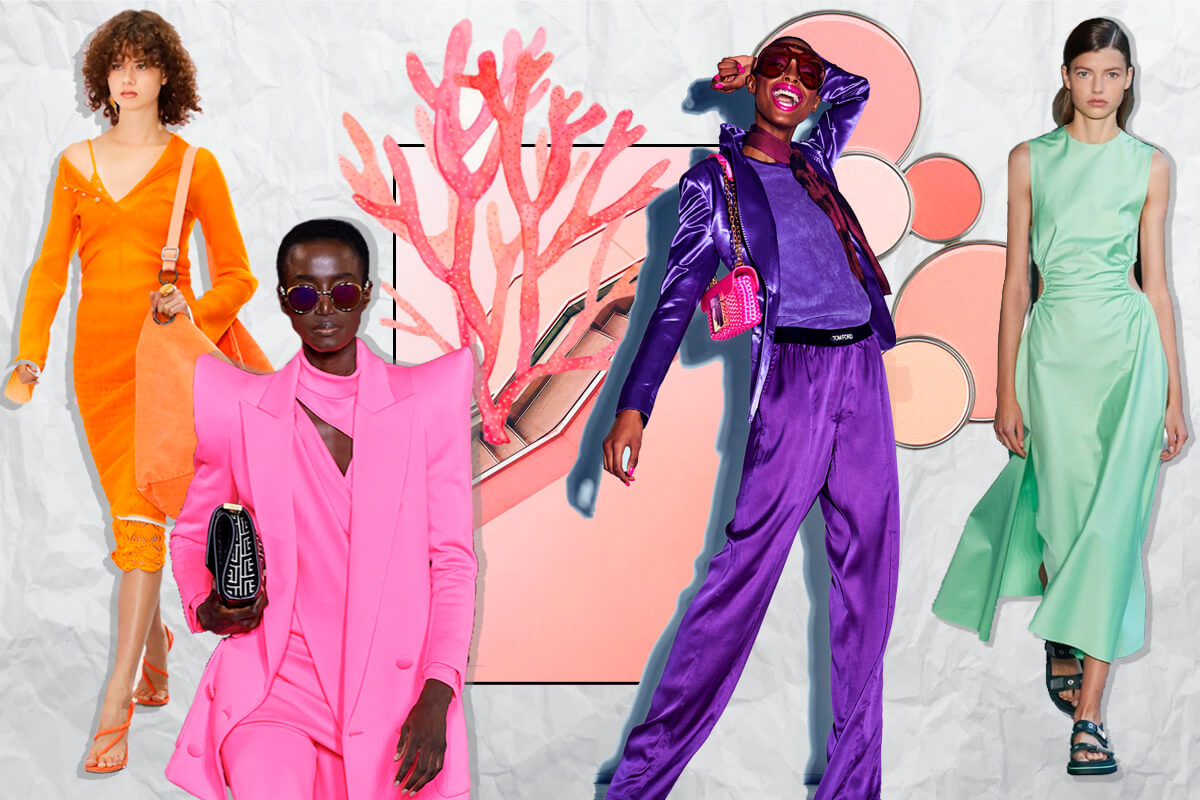 COLORS OF SPRING SUMMER 2021
